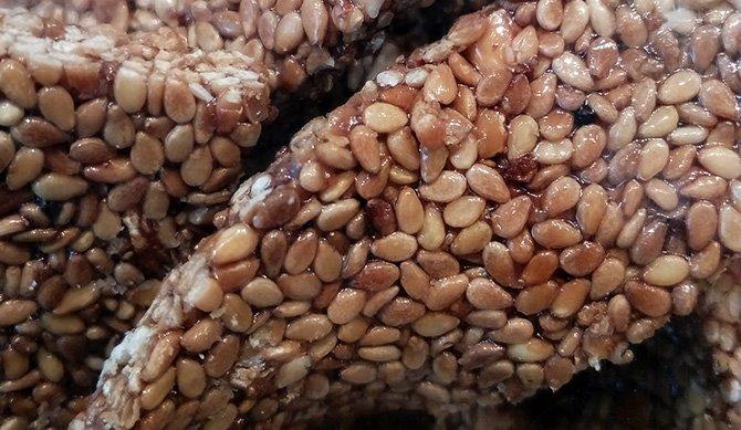 Cubbaita di mandorle siciliana